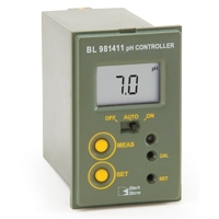 Máy kiểm soát - đo và điều chỉnh pH mini Hanna BL 981411-1