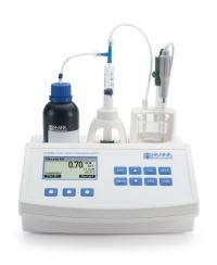 Máy chuẩn độ axit trong nước ép trái cây Hanna HI 84532