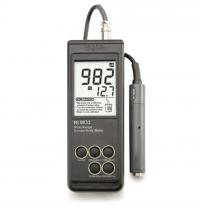 Máy đo độ dẫn điện EC cầm tay chống nước Hanna Hi 9033
