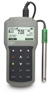 Máy đo ph/ORP/Nhiệt độ cầm tay Hanna HI 98190