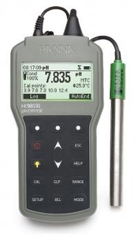 Máy đo pH/ISE/ORP cầm tay Hanna HI 98191