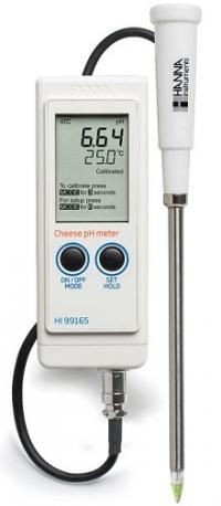Máy đo pH phô mai cầm tay Hanna HI 99165