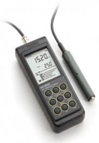 Máy đo EC/TDS/NaCl/Nhiệt độ cầm tay Hanna HI 9835